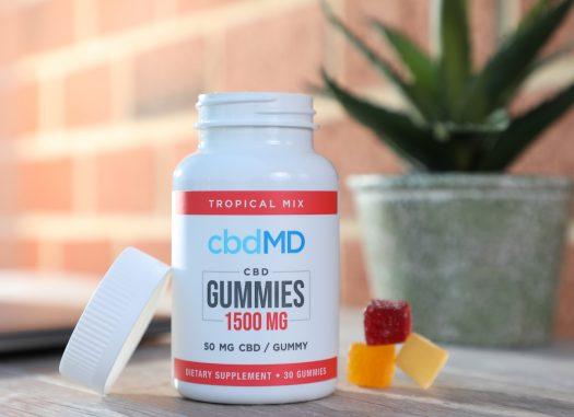 cbdMD Gummies 1500mg