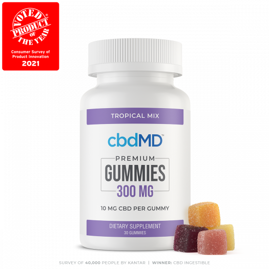 cbdMD gummies 300mg