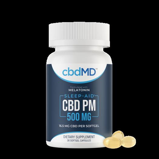 cbdMD PM Softgel Capsules